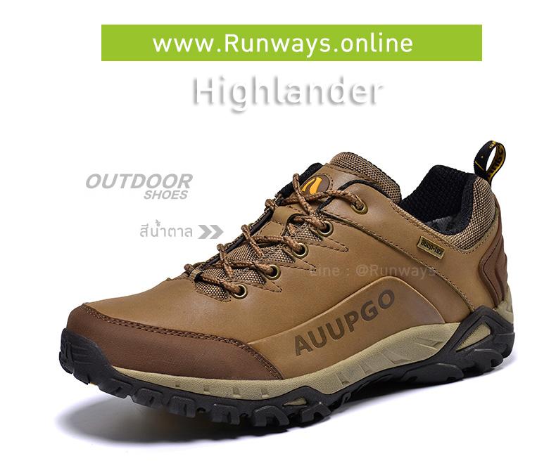 รองเทากันน้ำรุ่น Highlander : สีน้ำตาล