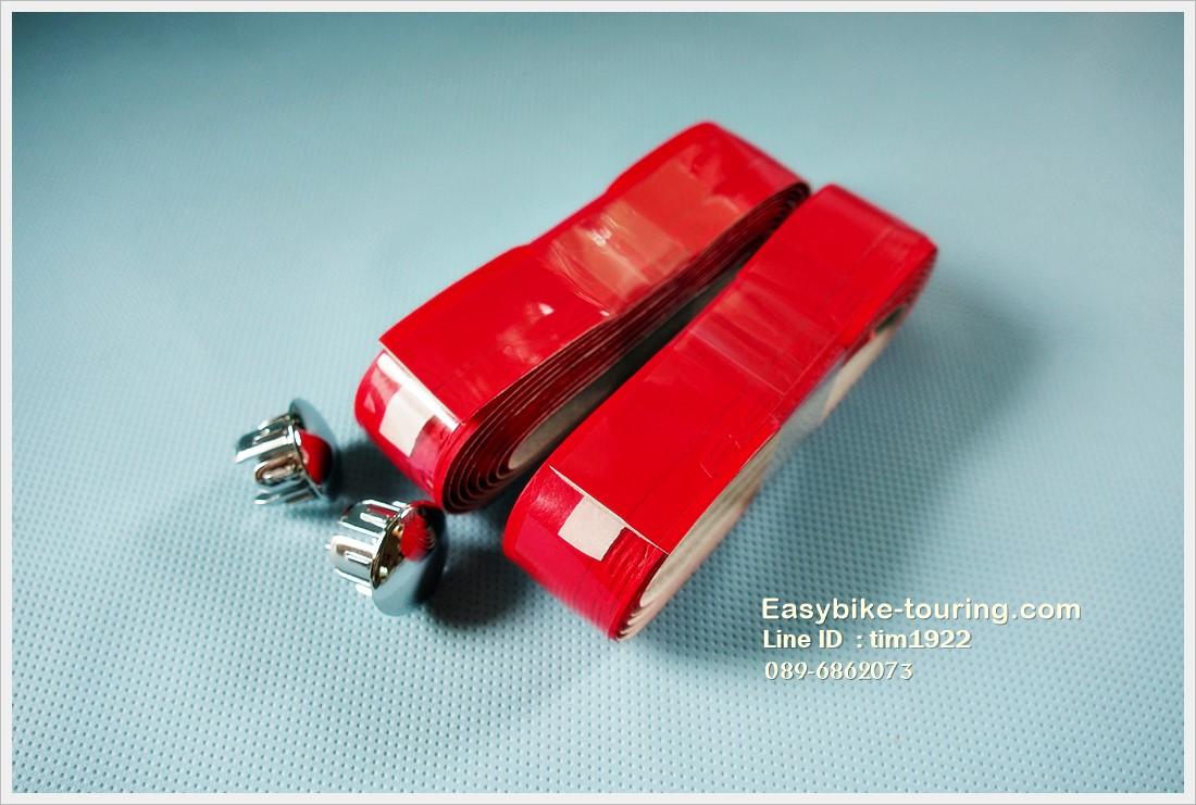 ผ้าพันแฮนด์เสือหมอบ Faster สีแดง