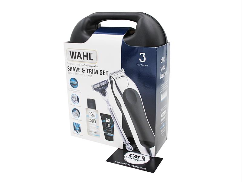 WAHL Battery Trimmer Razor Set