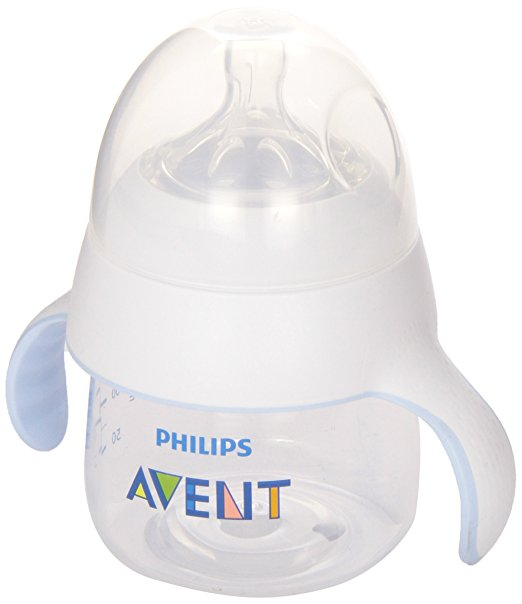 Philips Avent My Natural Trainer Cup, Clear, 5 Oz, Stage 1 (4 months+)