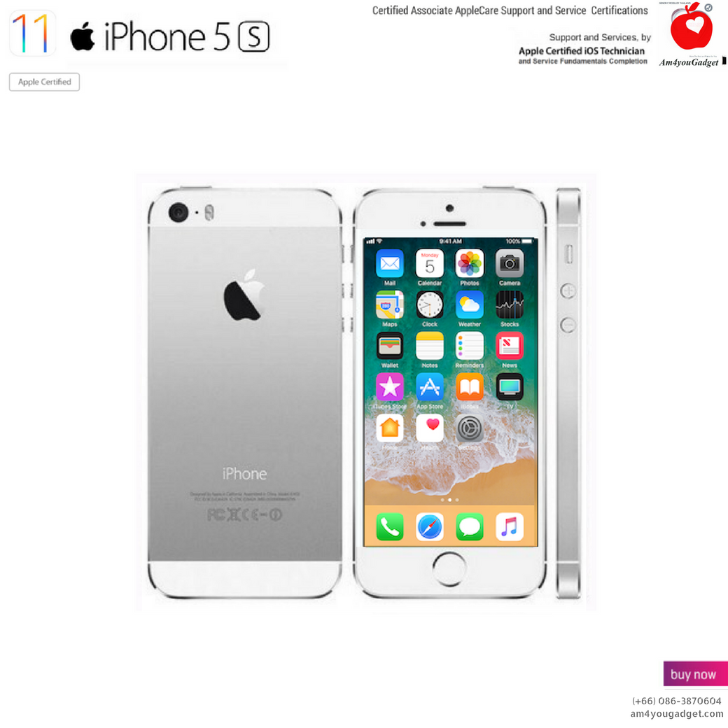 (Imported) iPhone5s 64GB - Silver