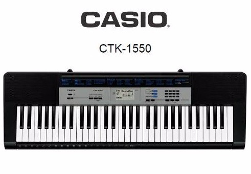 คีย์บอร์ด Casio รุ่น CTK-1550