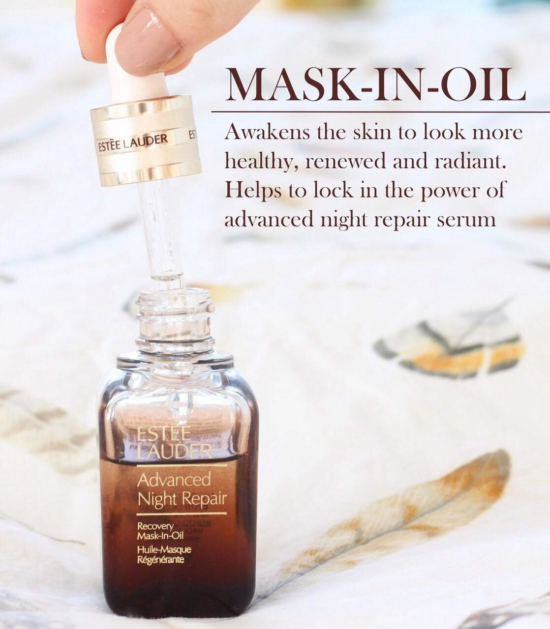 #Estee Lauder Advanced Night Repair Recovery Mask In Oil