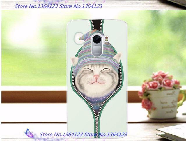 เคส lenovo k4 note (vibe x3 lite) ลายลูกแมวใส่หมวก พลาสติกเคส