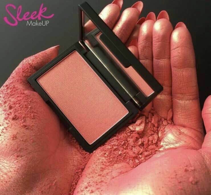 #Sleek MakeUP Blush ขนาด 8g. สี Rose Gold