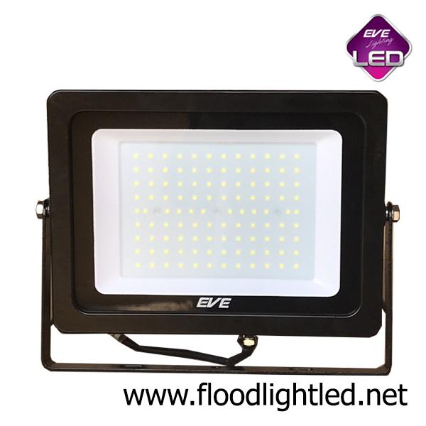 สปอร์ตไลท์ LED 100w รุ่น Slender ยี่ห้อ EVE (แสงส้ม)