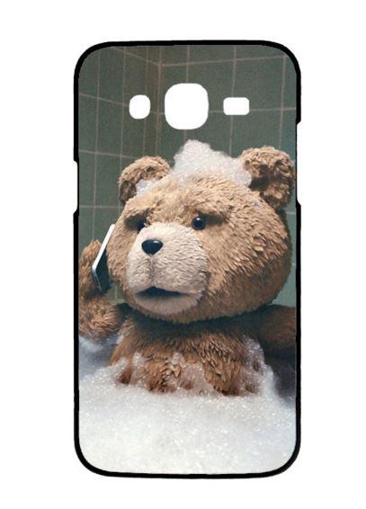 case samsung j7 เคสพลาสติก เพ้นท์ฝาหลังหมีเท็ดจอมแสบ