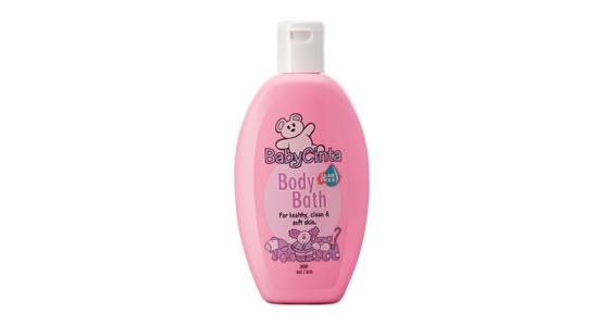 ครีมอาบน้ำเด็กซูเลียน สูตรอ่อนละมุนต่อผิว