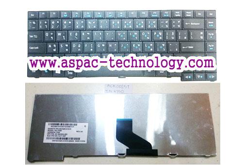 Keyboard ACER Travelmate 4750 4750G / 4740 4741 4745 / 6495 8473 ภาษาไทย/อังกฤษ