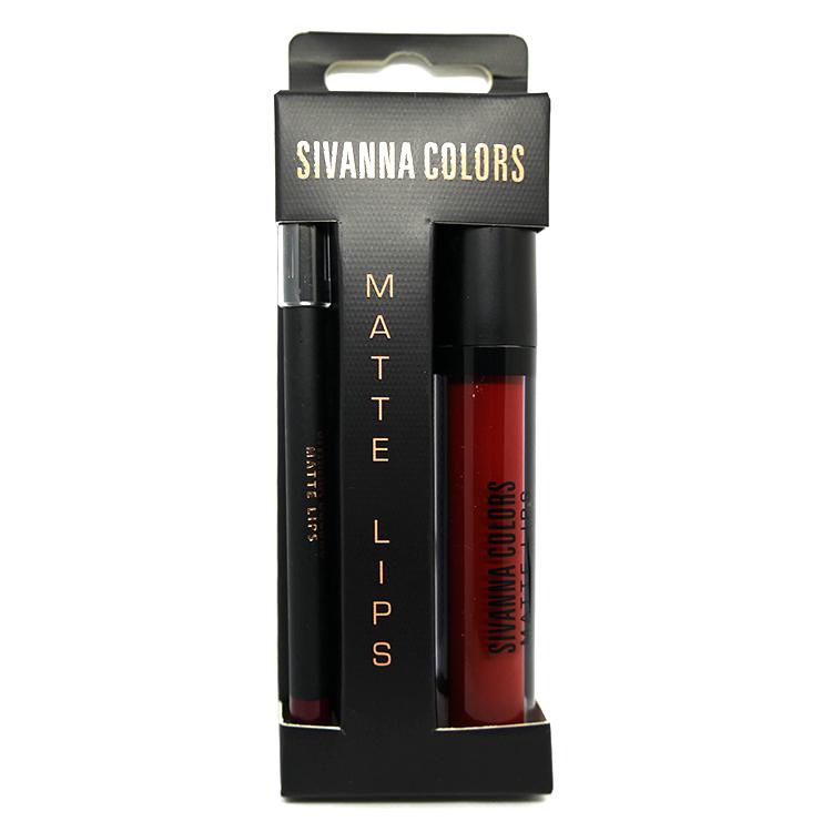 SIVANNA COLORS Matte Lip 2in1 Stick liner เบอร์ 11