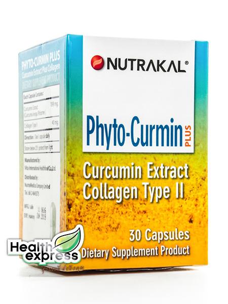 Nutrakal Phyto Curmin Plus นูทราแคล ไฟโต เคอร์มิน พลัส บรรจุ 30 แคปซูล