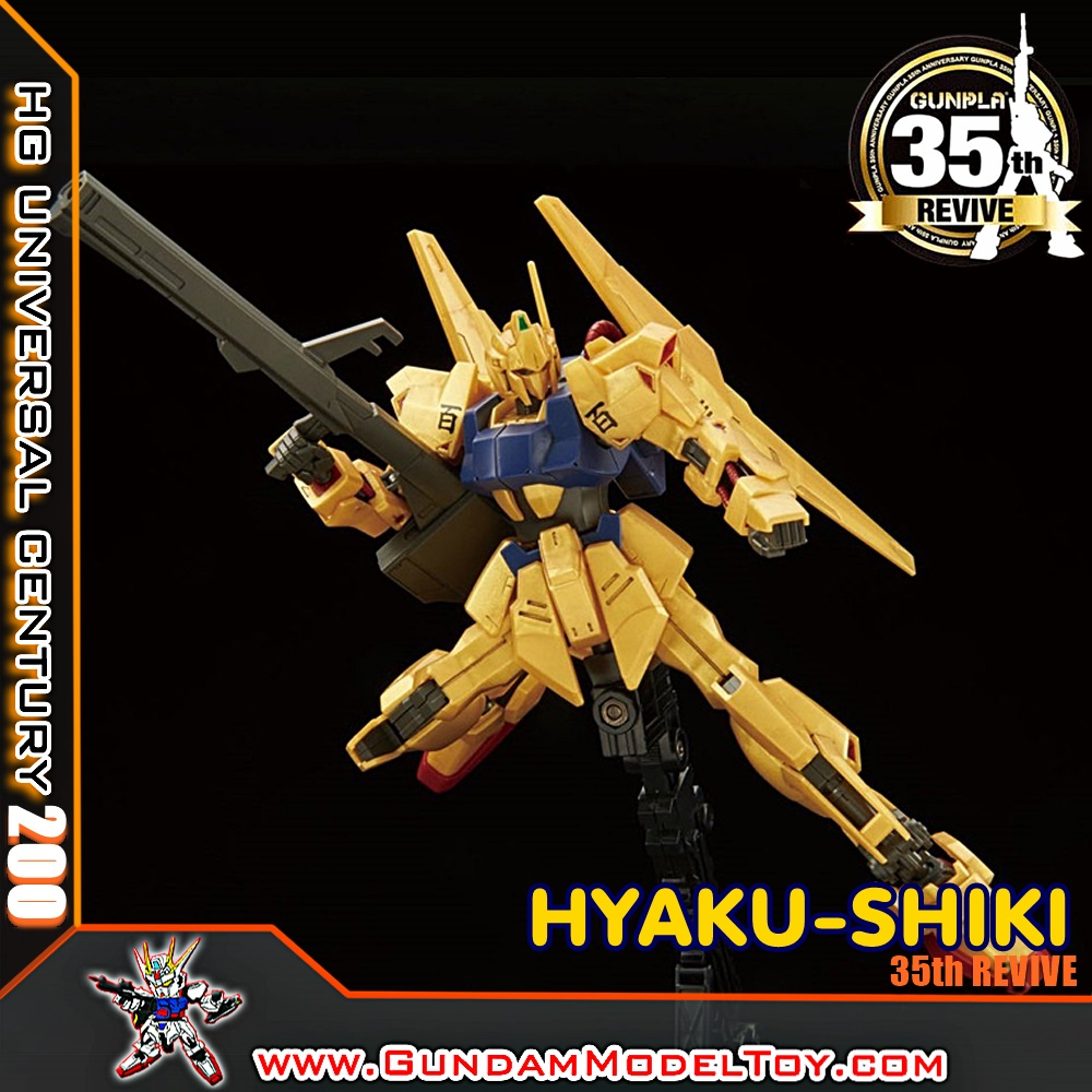HGUC 1/144 HYAKU-SHIKI 35th REVIVE ฮะยาคุ ชิคิ ฉลอง 35 ปี