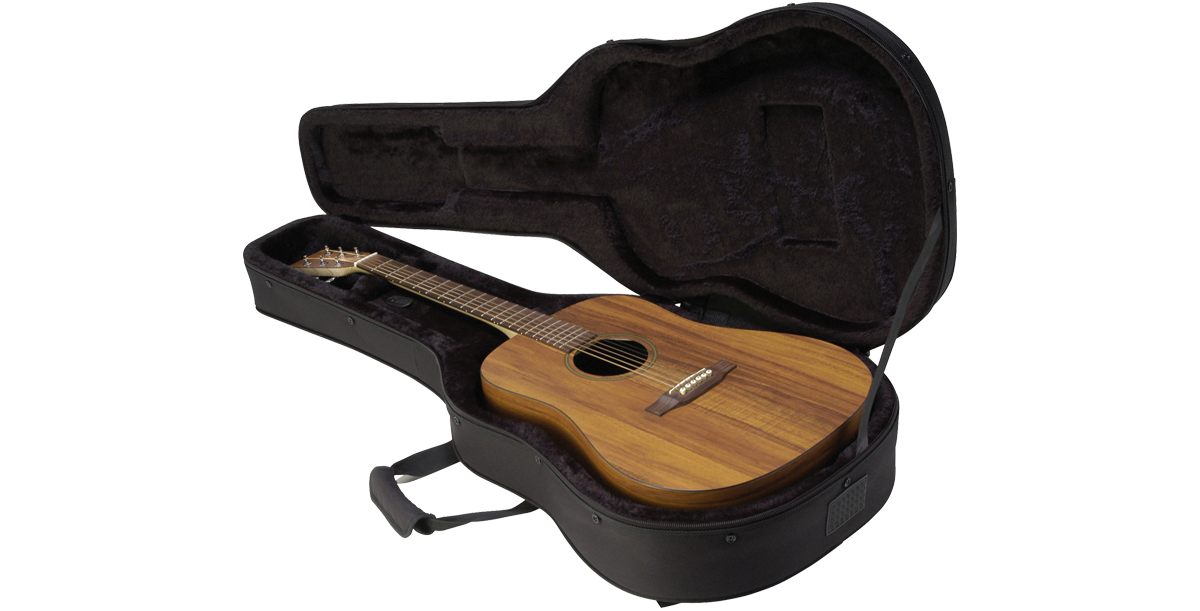 The Hard Foam Interiors Are Plush Lined And Offer Full Neck Support To Cradle Guitar More Securely Than A Conventional Bag