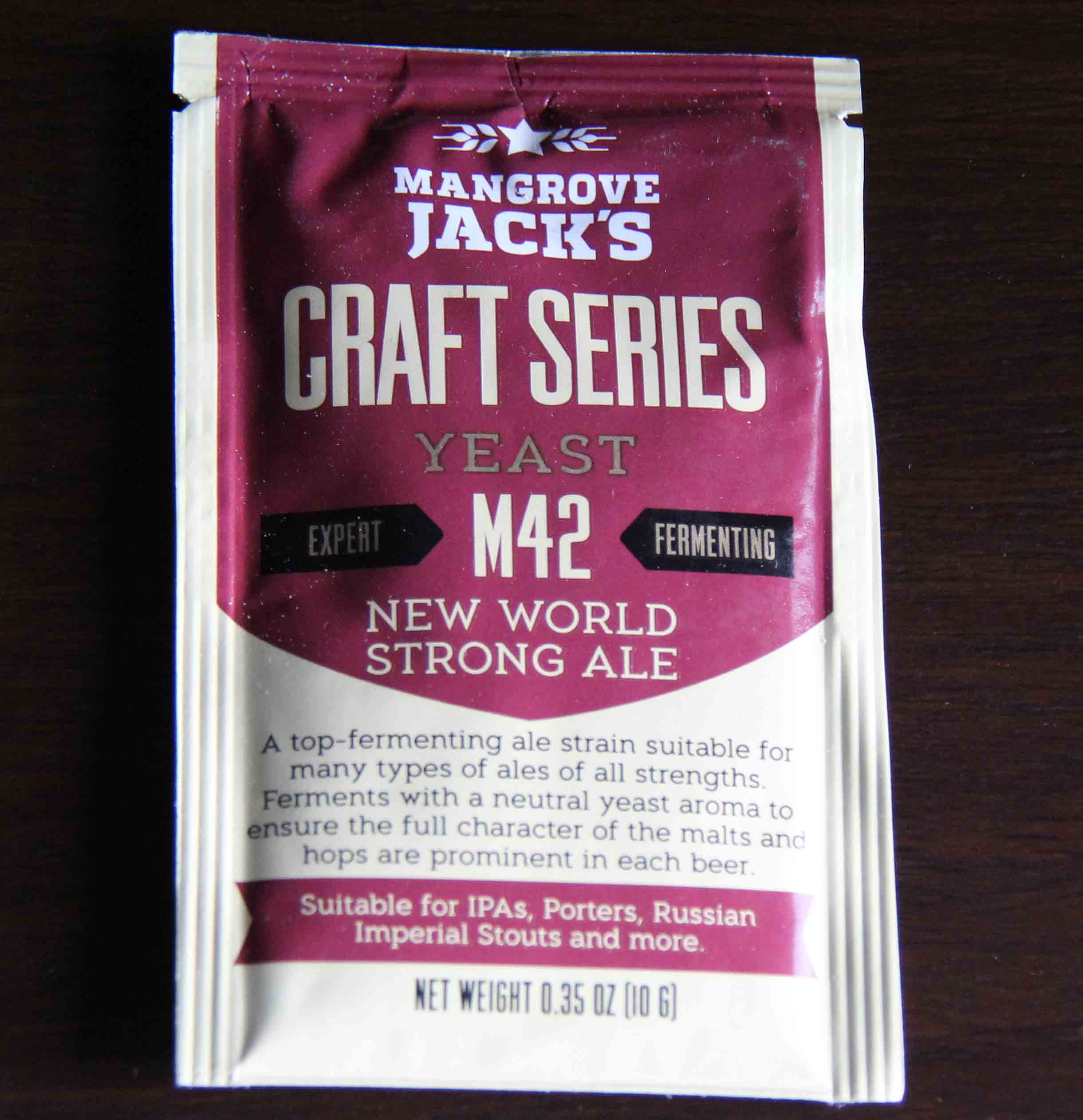 Mangrove Jack's - M42 NEW WORLD STRONG ALE Dry Yeast