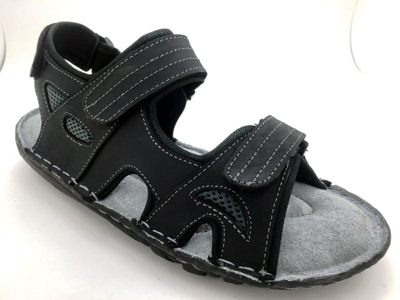 Leather sandals with backstrap (men)
