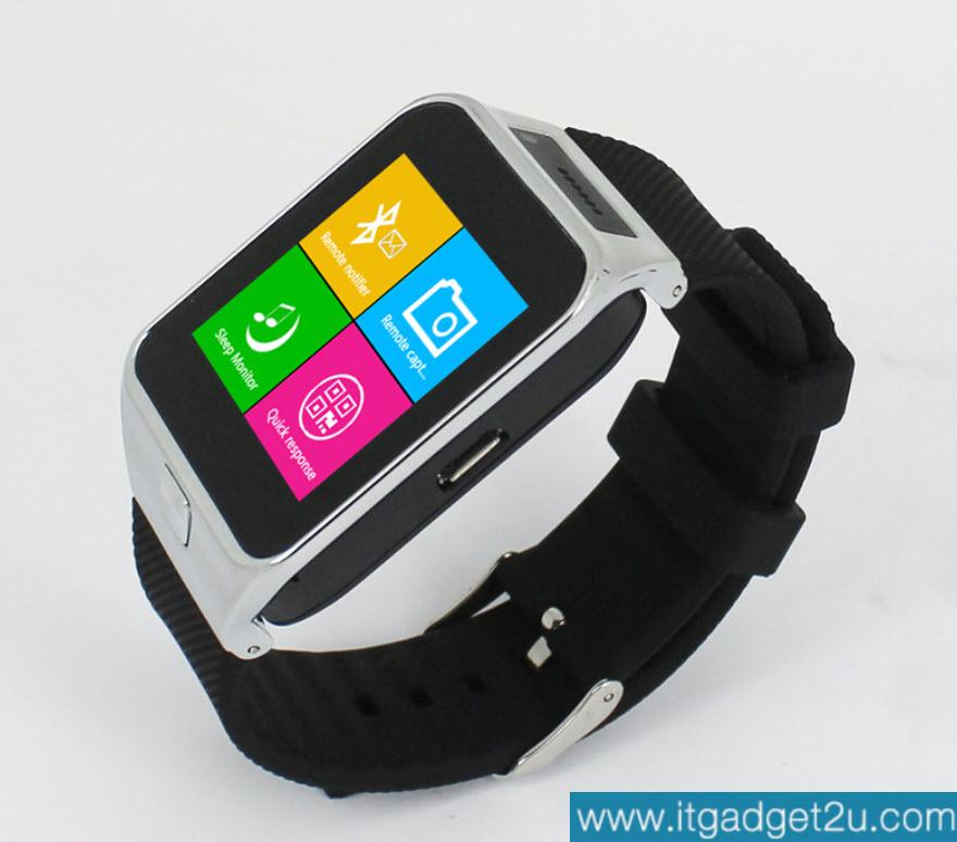 นาฬิกาโทรศัพท์ Smartwatch รุ่น M6S Watch Phone สีเงิน - ดำ ลดเหลือ 1,590 บาท ปกติราคา 3,550