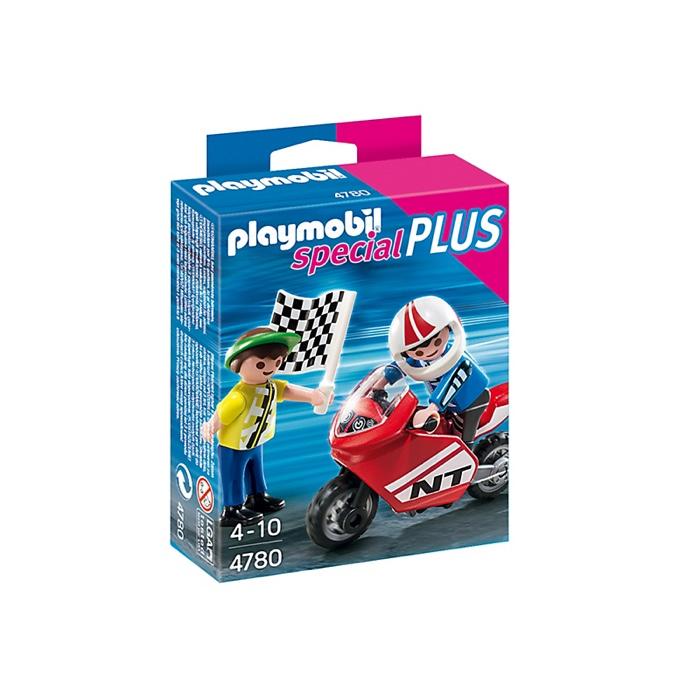 PLAYMOBIL 4780 Boys with Racing Bike