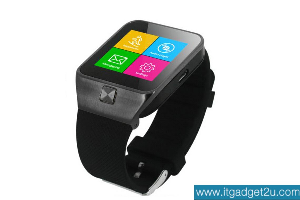 นาฬิกาโทรศัพท์ Smartwatch รุ่น M6S Watch Phone สีดำ ลดเหลือ 1,590 บาท ปกติราคา 3,550