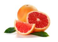 3. เกรปฟรุต Grapefruit มีส่วนบำรุงผิวได้โดยตรง มีสารAnti-Oxidants ต้านอนุมูลอิสระ ช่วยให้ผิวพรรณผ่องใส แล้ววิตามินซีที่อยู่ในเกรปฟรุตนั้น สามารถช่วยกระตุ้นการผลิตคอลลาเจน ที่ช่วยให้ผิวดูเปล่งปลั่งและอ่อนเยาว์