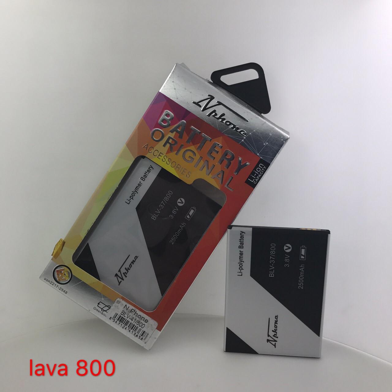 แบตเตอรี่ Lava 800 // BLV-37