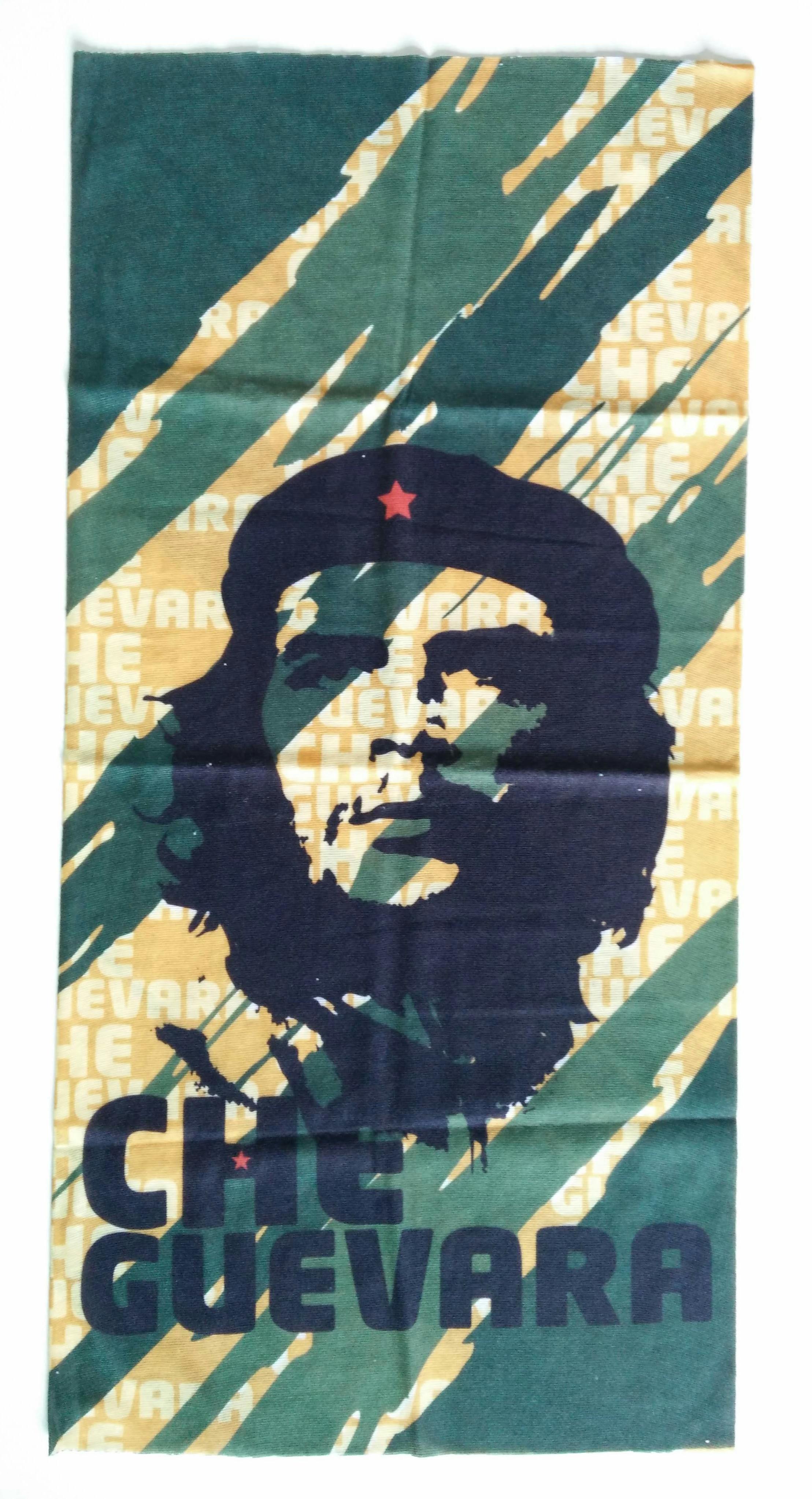 ผ้าบัฟ ลาย Guevara สีเขียว