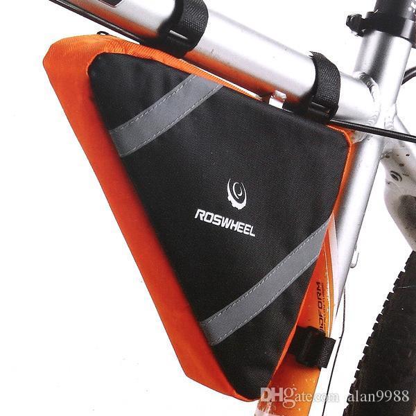 กระเป๋าใต้เฟรมจักรยาน ROSWHEEL ทรงสามเหลี่ยม
