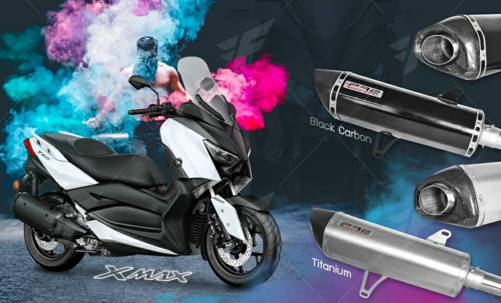 ท่อ PR2 YAMAHA X-MAX 300 BLACK ราคา8500
