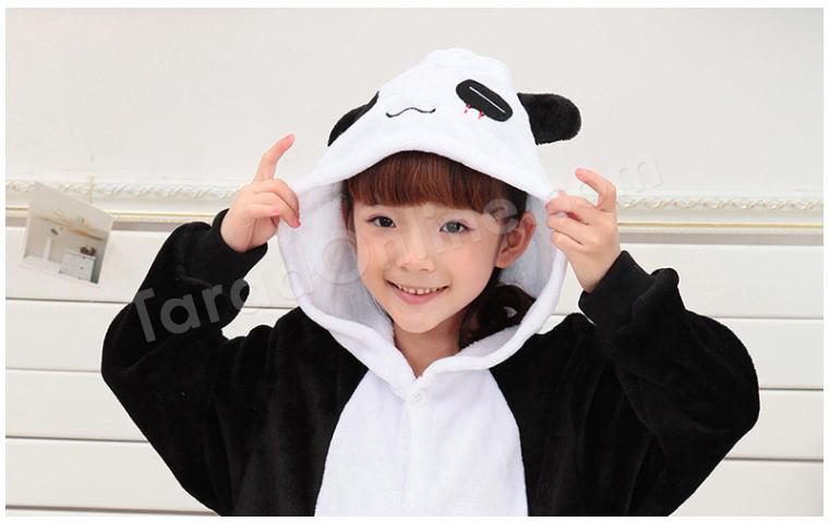 ชุดนอนมาสคอตเด็ก แพนด้า Size 85 (ขนาด 100cm - 110cm )