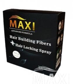 แม็กซีแฮร์ ไฟเบอร์ และ สเปรย์ Maxi hair fiber and spray