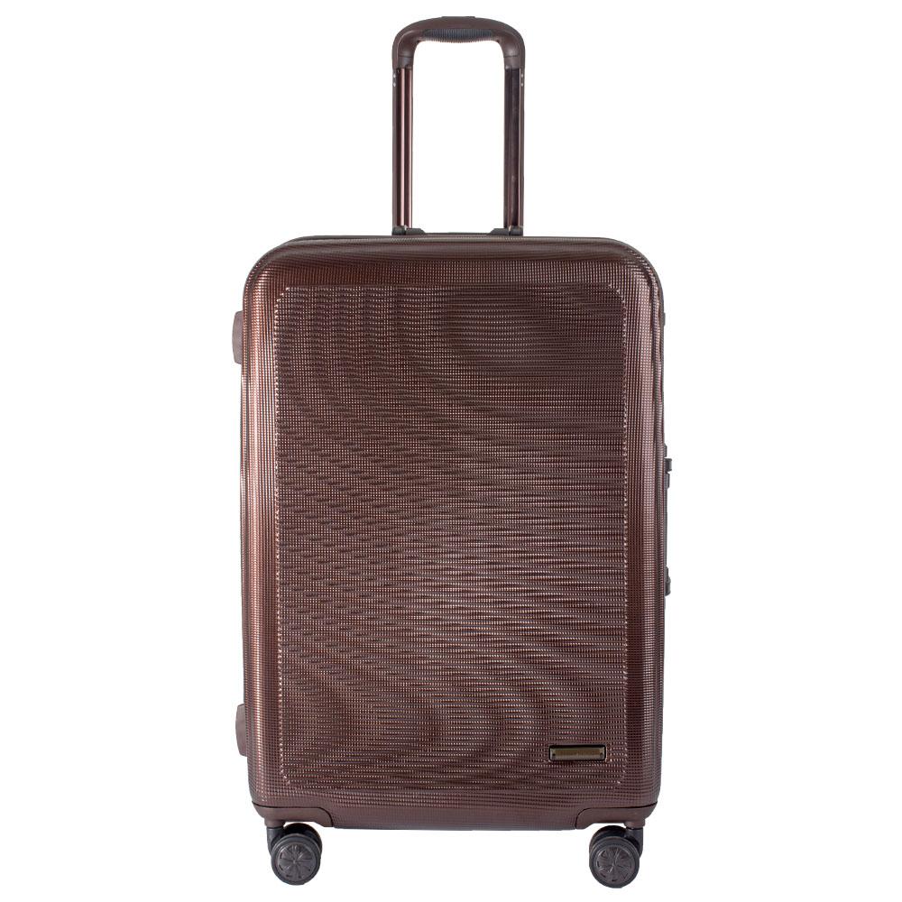 """กระเป๋าเดินทาง Polo World รุ่น PW285-TSA 20"""" (สีน้ำตาล)"""