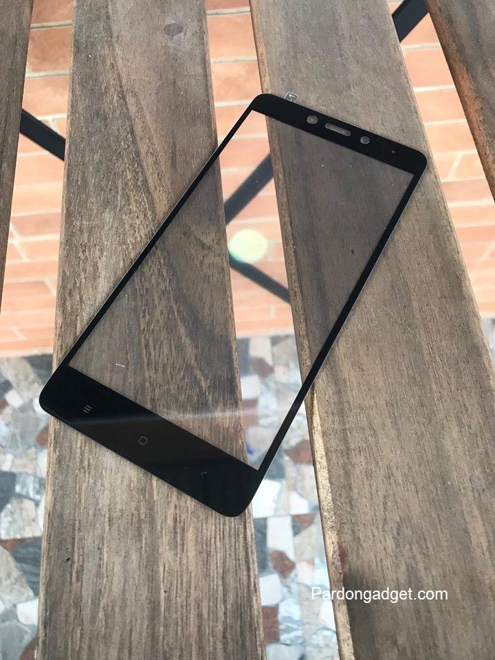 ฟิล์มกระจกเต็มจอ Xiaomi Redmi Note 4X สีดำ