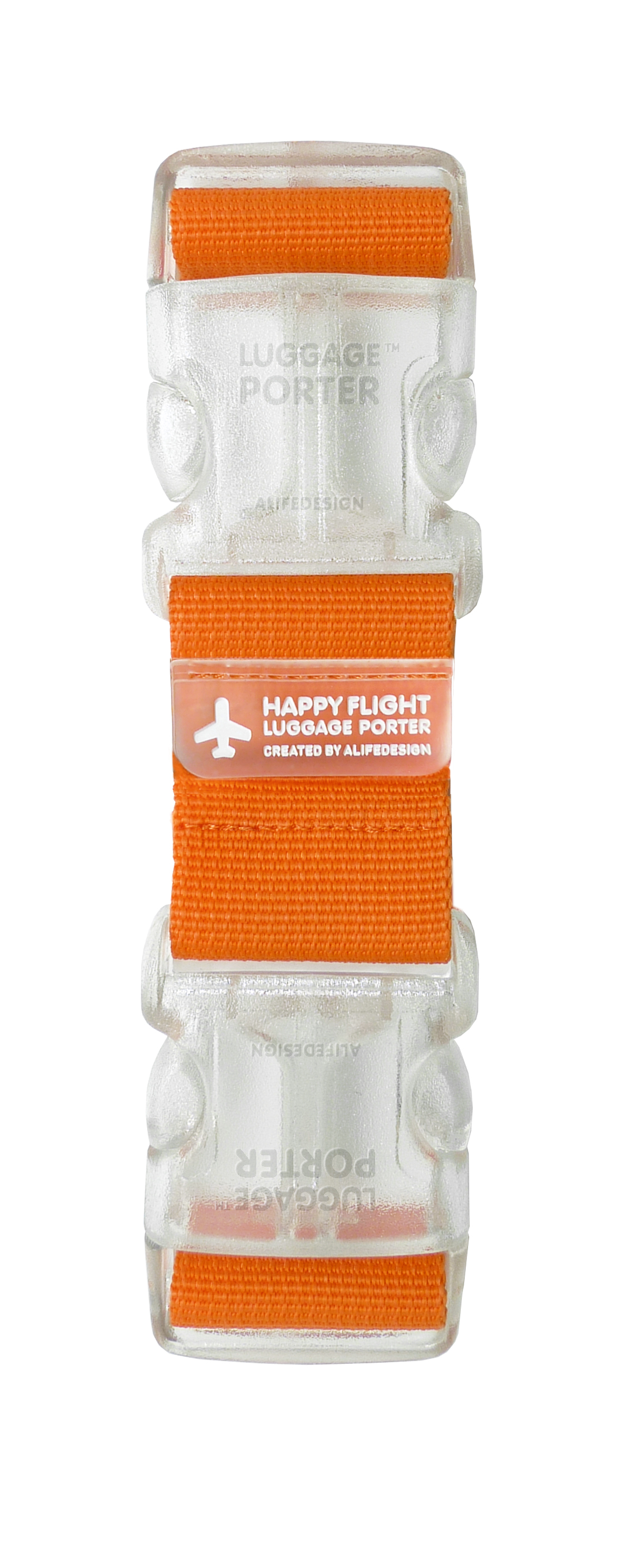 Alife Design Luggage Porter - Orange