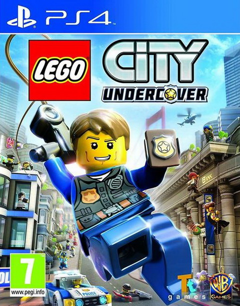 PS4- Lego City Undercover