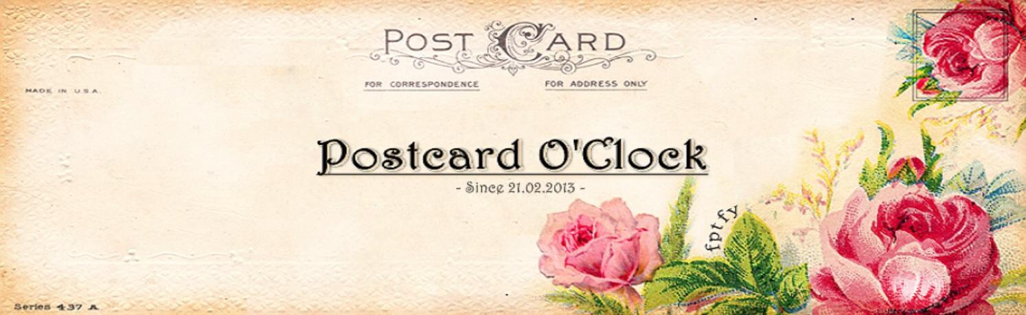 Postcardoclock