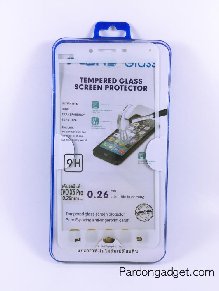 ฟิล์มกระจกเต็มจอ Vivo X6 Pro สีขาว