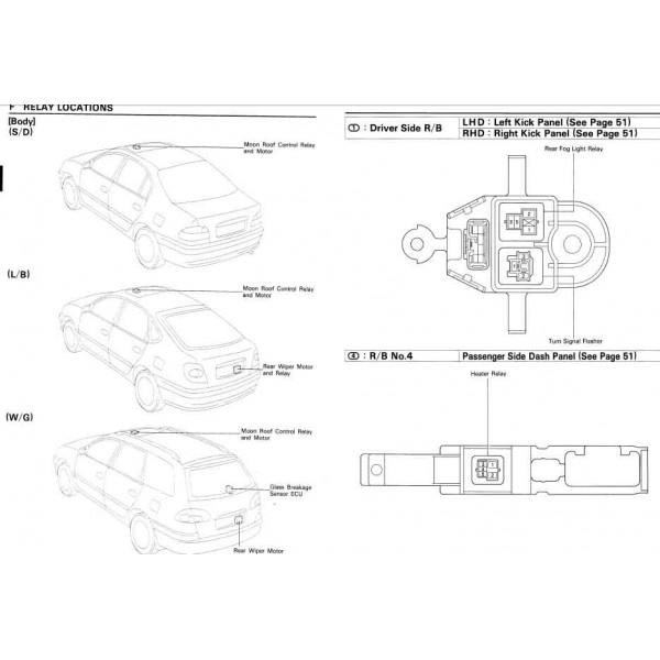Cd ค ม อซ อม Wiring Diagram Corona Carina Avensis เคร องยนต 3s