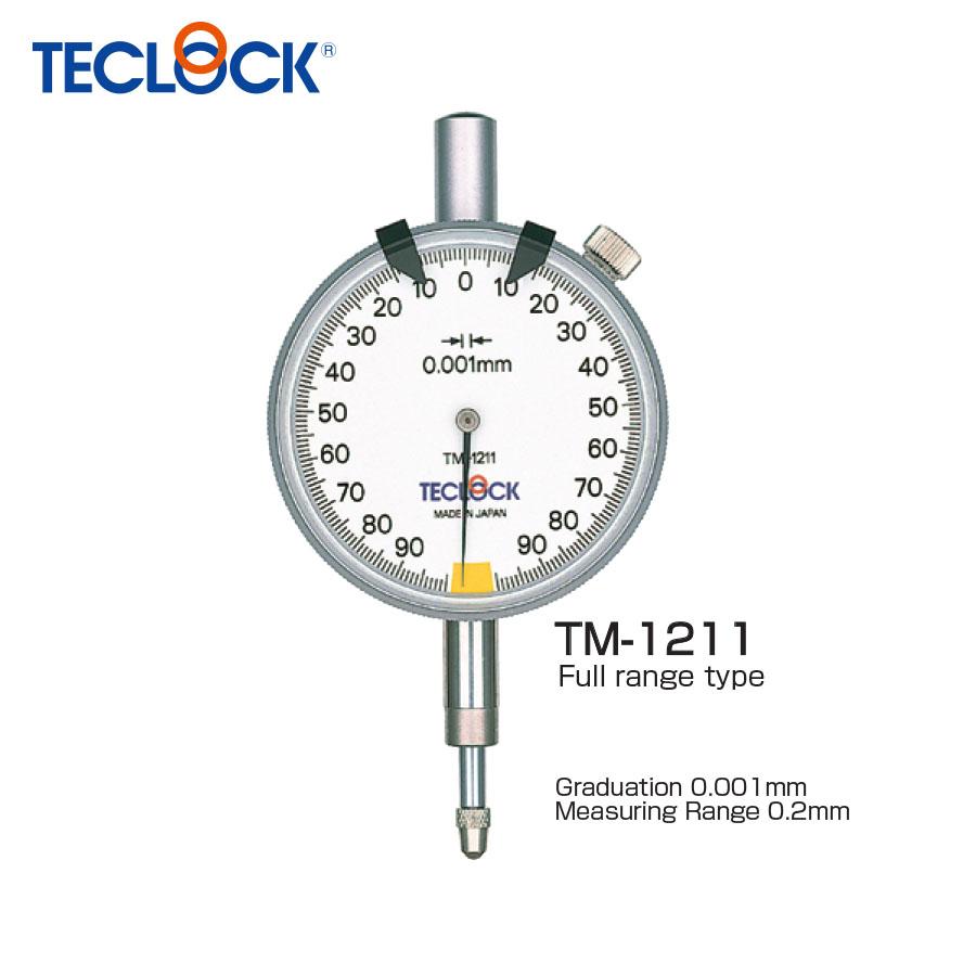 ไดอัลเกจวัดความเรียบ / One Revolution Dial Indicator (TM-1211) Teclock