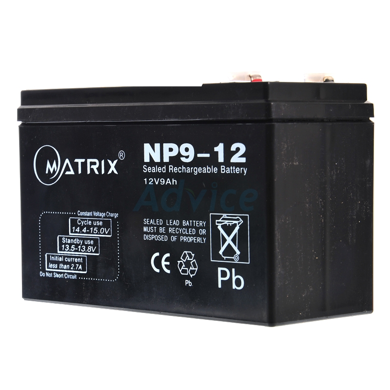 Battery 9Ah 12V 'Matrix'