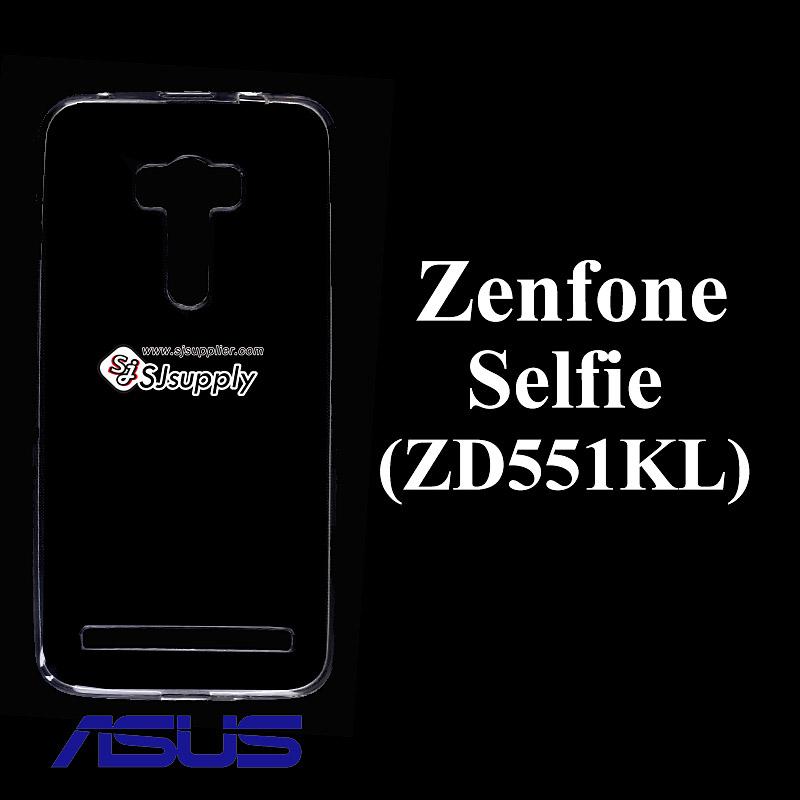 เคส Zenfone Selfie (ZD551KL) ซิลิโคน สีใส