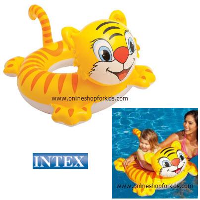 ห่วงยางสอดขา Intex See Me Sit Riders, Tiger