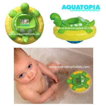 เต่าวัดอุณหภูมิในน้ำ Aquatopia - Safety Bath Time Audible Thermometer