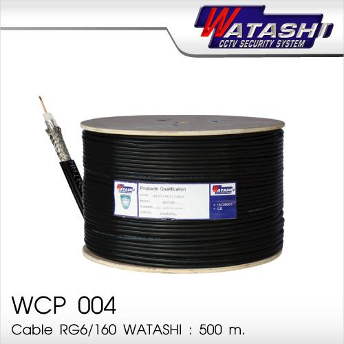 Cable 500M RG6/168 WATASHI#WCP004 (Black)