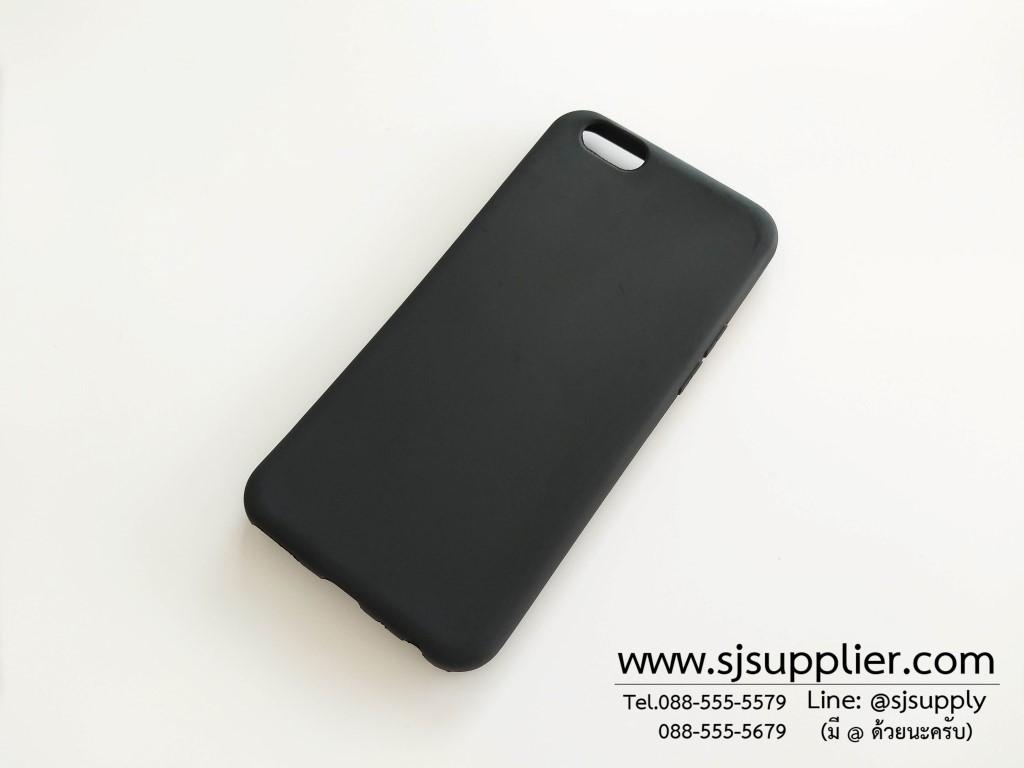 เคส Oppo A57 นิ่ม สีดำ