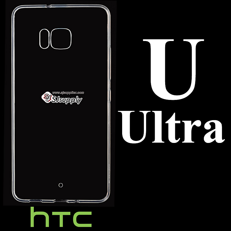 เคส HTC U Ultra ซิลิโคน สีใส