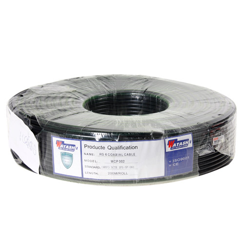 Cable 200M RG6/168 WATASHI#WCP002 (Black)