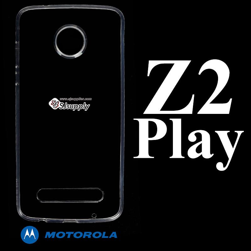 เคส Moto Z2 Play ซิลิโคน สีใส