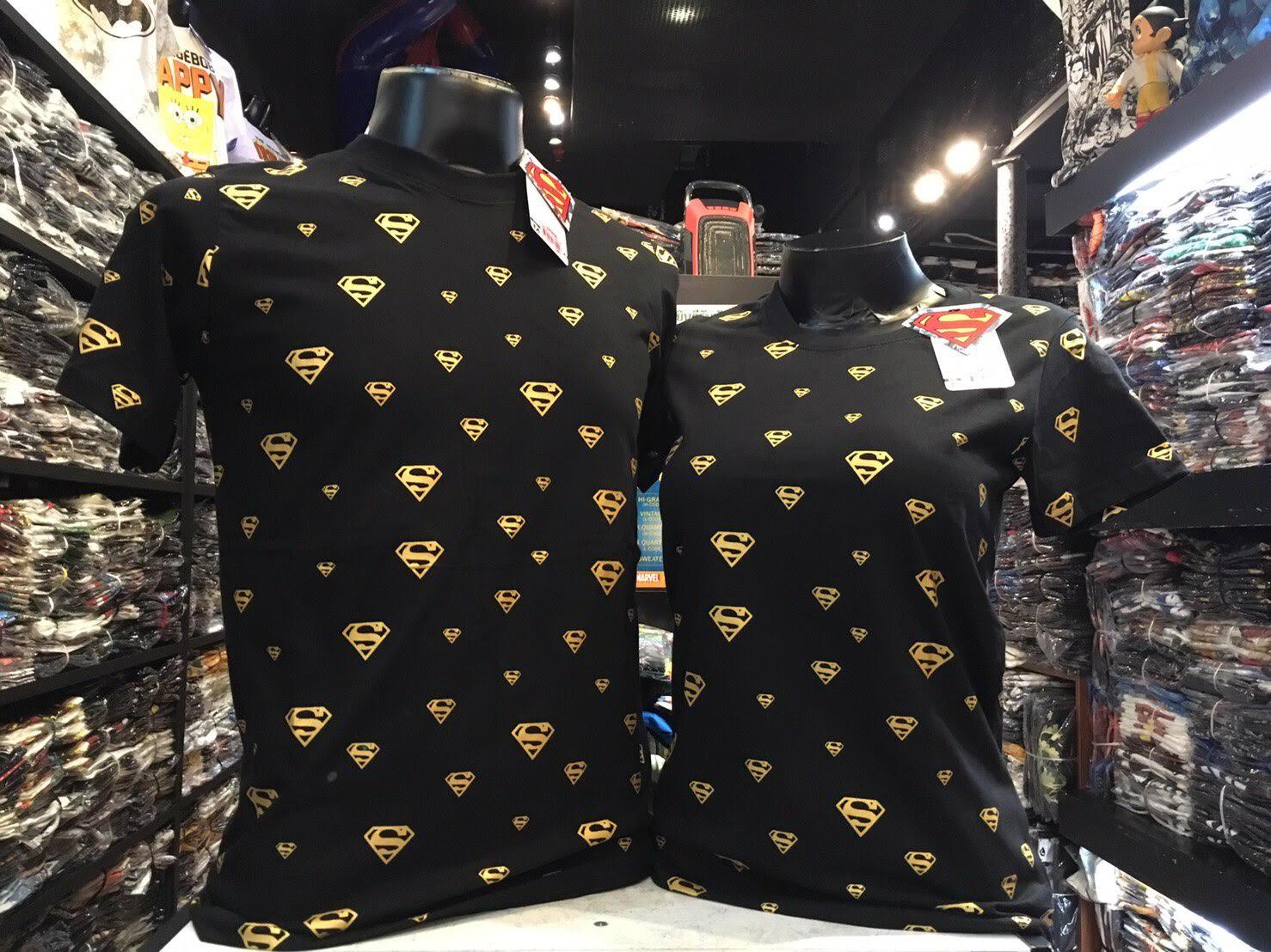ซุปเปอร์แมน สีดำ (Superman gold tiny CODE:0672)