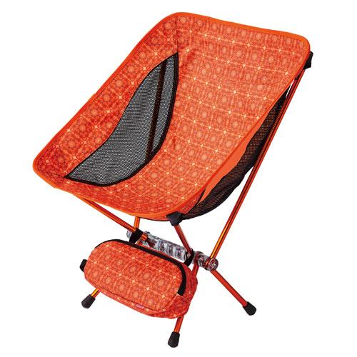 Coleman Leafy Chair #Crystal Orange