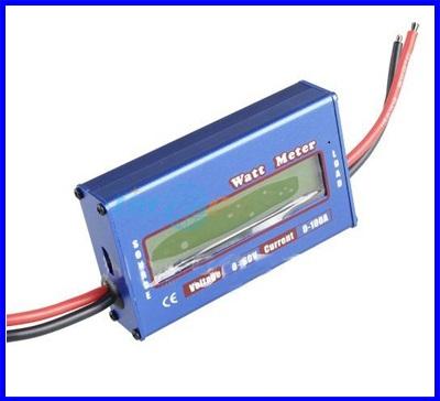 วัคพลังงานจากแผงโซล่าเซลล์ วัตต์มิเตอร์ไฟฟ้ากระแสตรง วัดกระแสการชาร์ทแบตเตอรี่ Digital 60V 100A Battery Balance Voltage Power Analyzer DC Watt Meter