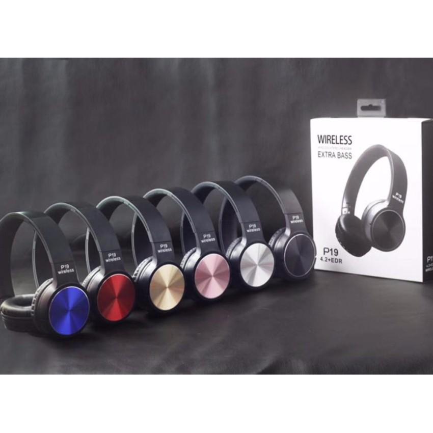 Wireless Bluetooth Headphone รุ่น P19